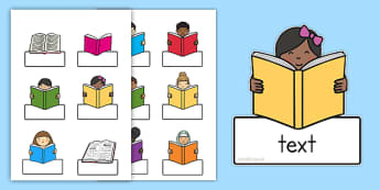 Book Labels - Primary Resources