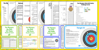 Olympics Maths Activity Pack