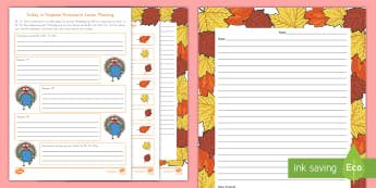 Turkey in Disguise Persuasive Letter Activity Pack - Writing, Persuasive, Persuasive Letter, Turkey in Disguise, Thanksgiving