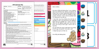 EYFS Sorting and Counting Cupcakes Adult Input Plan and Resource Pack - EYFS, Early Years Planning, Adult Led, Mathematics, Maths, 40-60, Selects The Correct Numeral To Rep