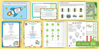 Childminder Number Recognition EYFS Resource Pack - Maths, numeracy, 1-10, numerals, count