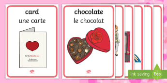 Valentine's Day Display Posters English/French - Valentine's Day Display Posters - valentines, day, display, poster, Valantines, valintines, valetin