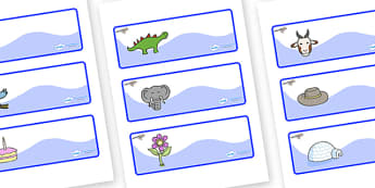 Jay Themed Editable Drawer-Peg-Name Labels - Themed Classroom Label Templates, Resource Labels, Name Labels, Editable Labels, Drawer Labels, Coat Peg Labels, Peg Label, KS1 Labels, Foundation Labels, Foundation Stage Labels, Teaching Labels