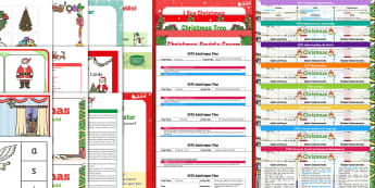 EYFS Christmas-Themed Bumper Planning and Resource Pack for 2-5 Year Olds - xmas, winter festivals, Christian festivals, santa, father christmas, christmas activities, christma