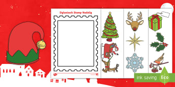 Design a Christmas Postage Stamp Activity Welsh - christmas, welsh, nadolig, display, welsh display