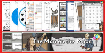 The Man on the Moon Resource Pack - man on the moon, resource pack, pack, resource