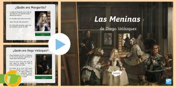 Presentación: Las Meninas  - Velázquez, Pintura, Cuadro, Margarita, Felipe IV, Museo Del Prado, painting, Famous,Spanish