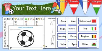 Childminder Euro 2016 Resource Pack