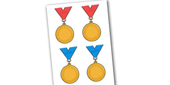 Editable Award Medals - Reward medals, reward, rewards, school reward, medal, good behaviour, award, good listener, good writing, good reading