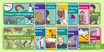 Australia Science F-2 Curriculum Display Posters -  content descriptors, inquiry skills, science poster, science understandings, science as a human end