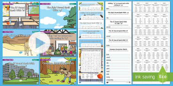 Year 2 Term 1B Bumper Spelling Pack - spag, gps, lists, words, spelling test