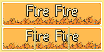Fire Fire Display Banner - fire, display, banner, display banner