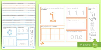 Number Mat Activity Pack  - UAE EYFS Maths General, maths, math, numbers, number formation, UAE, number concepts, EYFS, number r