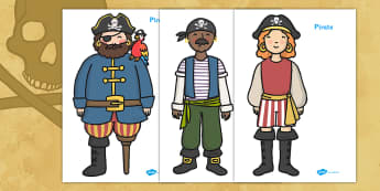 Pirates Display Posters - Pirate, Pirates, Topic, Display, Posters, Freize, pirate, pirates, treasure, ship, jolly roger, ship, island, ocean