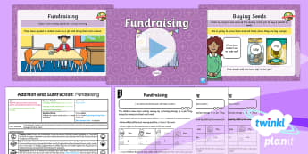Y2 Addition and Subtraction Strategies (7) Lesson Pack - number line, bridge ten, explain, partition, find different possibilities, year two, year 2, powerpo