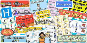 Community Services Role Play Pack - role-play, pack, services