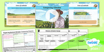 Geography: Exploring Eastern Europe: Comparing Climates Year 5 Lesson Pack 3