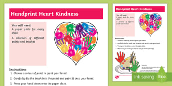 EYFS All about Kindness Activity - World Kindness Day, 13th November, Anti-Bullying Week, Friendship, Acts of Kindness