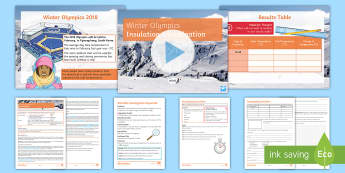Winter Olympics Insulation Investigation - Insulation, reproducibility, conslusion, variables, temperature