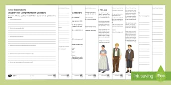 Great Expectations Differentiated Reading Comprehension Activity - Joe, Mrs Joe, Joe Gargery, Pip, Great Expectations, Charles Dickens.