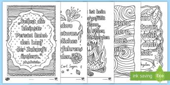 Inspirierende Zitate Anmalbilder - Malen, Ausmalen, Anmalen, inspirieren, motivieren, Motivation, Autoren, Zitat, ,German