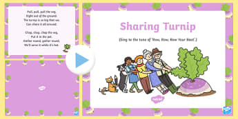 Sharing Turnip Song PowerPoint