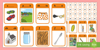 Phase 3 Digraphs or, ar and ur Peg Matching Game - Letters And Sounds, Phonics, Assessment, Phonics Screen, Fine Motor