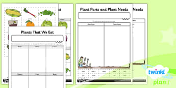 Science: Plants Year 2 Unit: Home Learning Tasks