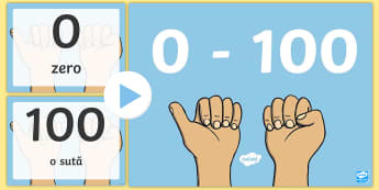 Scrierea și citirea numerelor de la 0-100 PowerPoint - 0-100, numerație, numerale, numerele în concentrul 0-100, numărăm, numără, număr, jocuri,Roma