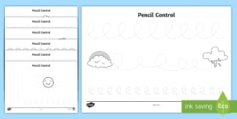 Weather and Seasons Pencil Control Worksheets - weather and seasons, weather and the seasons, weather and seasons pencil control, pencil control worksheets
