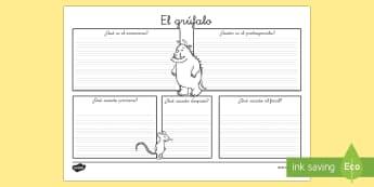 Reseña de libro El Grúfalo