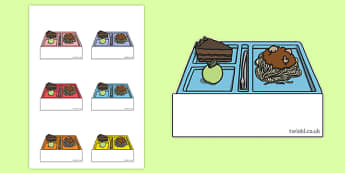 School Dinner Themed Self-Registration Labels - school dinner, self registration, labels, display