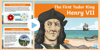 Theme of british history the changing power of new ks2 the first tudor king henry vii information powerpoint british monarchs publicscrutiny Choice Image