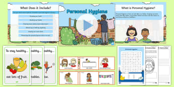 Hygiene Resource Pack - Personal, care, self, look, after, clean, germs, wash, cleanliness, Scottish