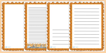 Fire Page Borders - Fire, bonfire, flames, page borders, writing frame, border, writing aid, 1666, great fire, pudding lane, fires, peyps, bakery, timeline, events