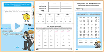 Year 5 Term 2A Week 4 Spelling Pack - Spelling Lists, Word Lists, Spring Term, List Pack, SPaG