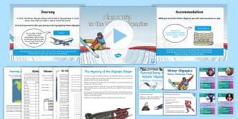 KS2 Winter Olympics 2018 Resource Pack - pyeongchang 2018, winter 2018, pyeongchang, winter olympics activities, winter games