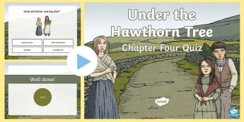 Chapter Four Quiz PowerPoint to Support Teaching on Under the Hawthorn Tree - ROI - Resources to Support The Teaching Of Under the Hawthorn Tree, Under the Hawthorn Tree, Third C