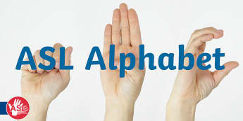 USA American Sign Language (ASL) Video - deaf awareness, learn asl, learn american sign language, learn asl alphabet, asl alphabet, asl a-z
