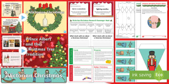 CFE Second Level Victorian Christmas Resource Pack - Christmas traditions, Queen Victoria, History of Christmas, Christmas in the Past, Christmas activit