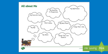 All about Me Train Worksheet / Activity Sheet - All About Me Train Worksheet / Activity Sheet - Transition, Back To School, trains, transport, About Me, Ourselv