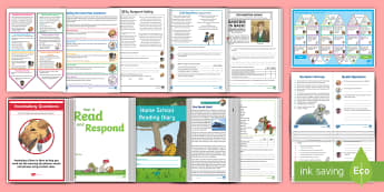Year 6 Reading Skills Bumper Resource Pack - Reading Dogs, Content Domains, Inference, Reading SATs, Y6, Deduction, Speed Reading, Comprehension
