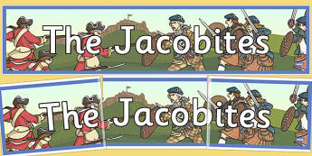 The Jacobites Display Banner - jacobites, display, banner, scottish