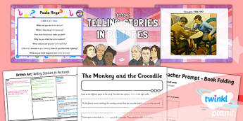 Art: British Art: Telling Stories in Pictures LKS2 Lesson Pack 1