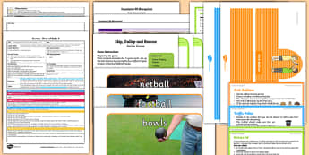 Foundation PE (Reception) - Games - Best of Balls Lesson pack 5: Bounce and Catch - EYFS, PE, Physical Development, Planning