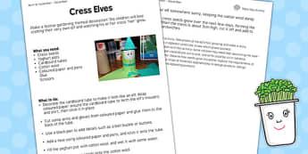 Cress Elves Worksheet - cress elves, worksheet, cress, elves