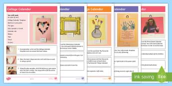 new eyfs calendar ideas activity pack