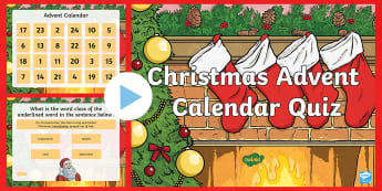 Years 5 and 6 Christmas SPaG Quiz PowerPoint - punctuation, semi colons, fronted adverbials, colons, suffixes, verb forms, standard english, christ