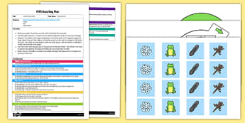 Frog Life Cycle Match EYFS Busy Bag Plan And Resource Pack - spin wheel, frogspawn, froglet, planning, plan, eyfs, early years, foundation, stage, frogs, growth, tadpoles, frogspawn