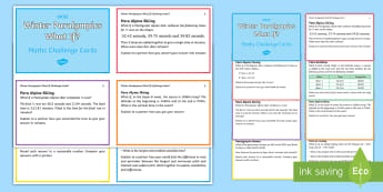 UKS2 Winter Paralympics What If? Maths Challenge Cards - Mastery, Reasoning, Greater Depth, Abstract, Problem Solving, Explanation,